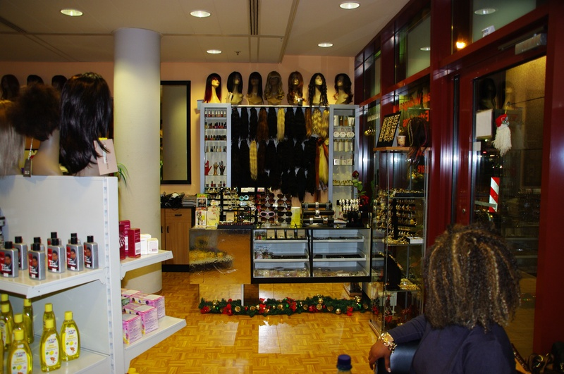Different angle black white beauty shop for A different angle salon